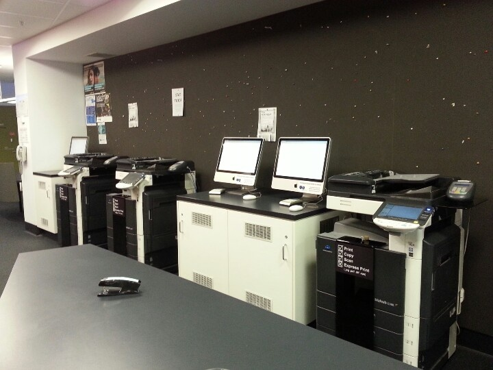 Biological science library printers level 2