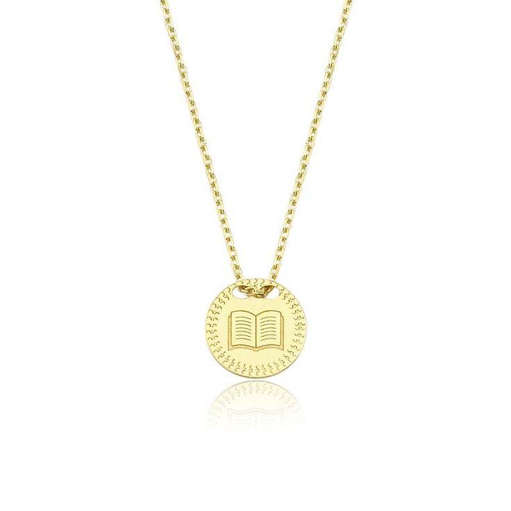 Altın Kitap Kolye #altınbaşlife #kolye #altın #takı #tasarım #hediye #gift