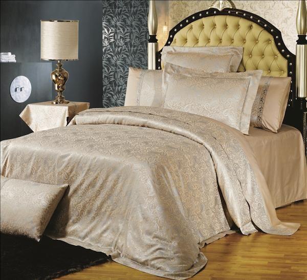 Неповторимое качество!  Постельное белье. Сатин. Asabella, ДИЗАЙН-610.  Прекрасный вариант для роскошного интерьера Вашей спальни, а так же идеально впишется в гостиничный номер класса Люкс или VIP.
