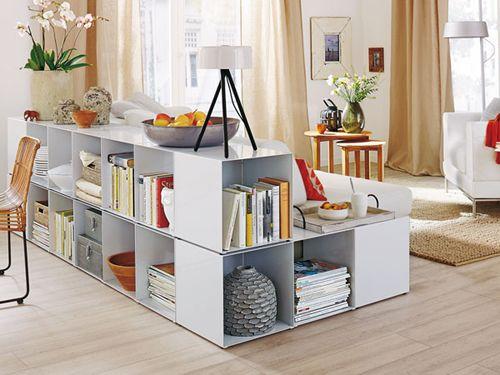 Cubus Regalmodul von Jan Kurtz - perfekt als niedriges Regal bzw. Bücherregal im Wohnzimmer!