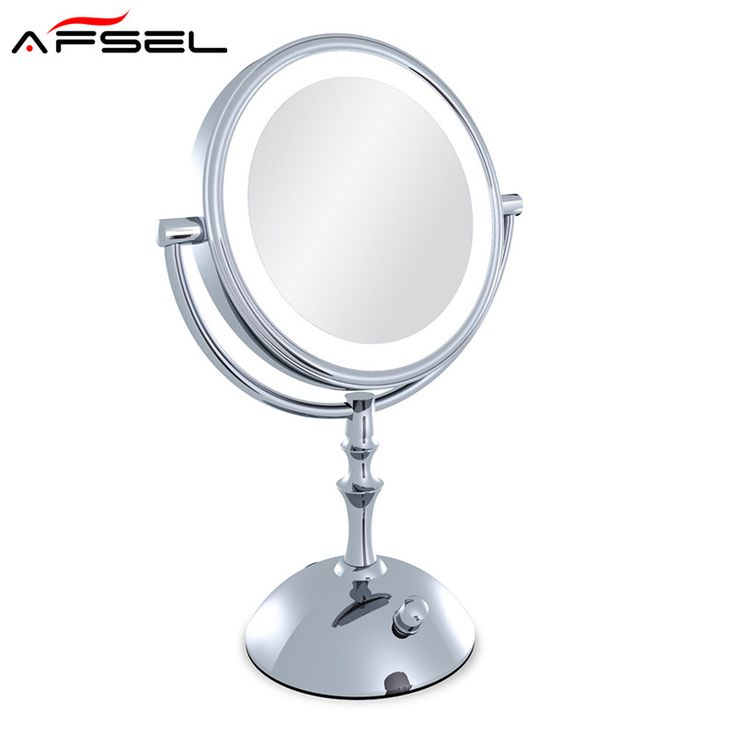 Photo Album For Website AFSEL Brand Makeup Mirror with Light Inch led Compact Cosmetic Mirror Lady us X Double Sided
