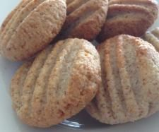 Lemon scented Coconut Almond Macaroons