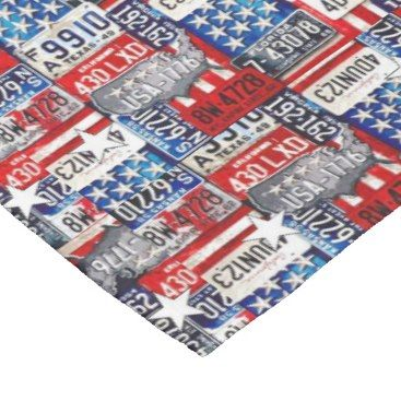 "Title : 31, Novelty License Plate Collage Print Fleece Blanket  Description : Novelty, ""License-Plate-Collage"" Fun, Humor, ""4th-July,"" Retro, Vintage, Nostalgic, Unique, ""Car-Lovers"",  Product Description : <div>  Fabric: Fleece    <div></div>  </div>"