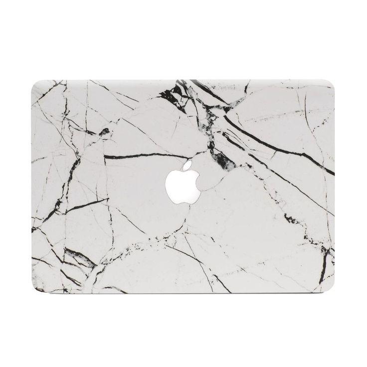 Hyper Marble MacBook Skin - White by #UNIQFIND   #macbook