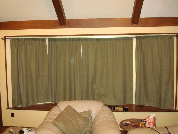 Curtain Rods 5 sided bay window curtain rods : 17 Best images about bow window on Pinterest | Window treatments ...