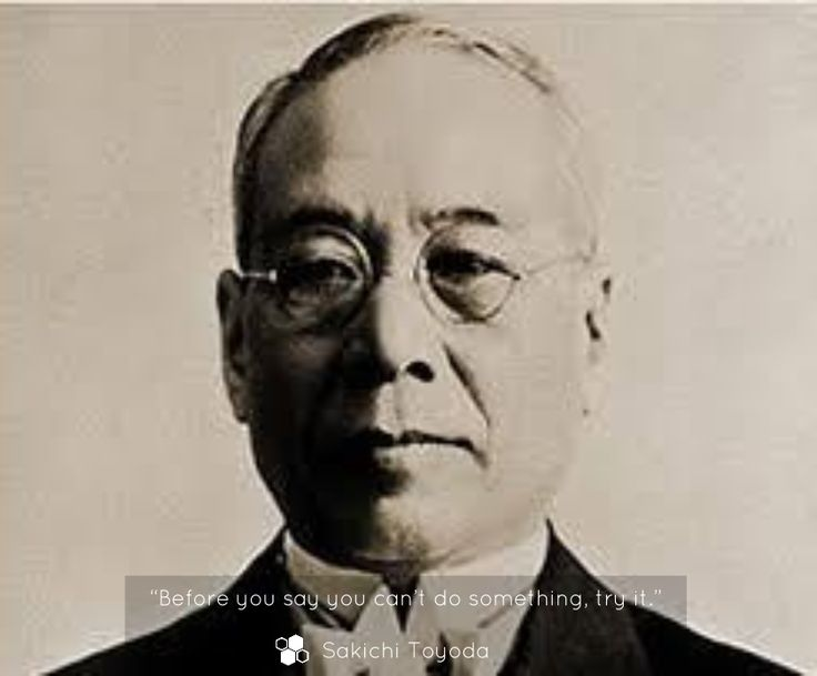 """Sakichi Toyoda (1867 – 1930) was a Japanese inventor and industrialist. Toyoda is referred to as the """"King of Japanese Inventors""""."""