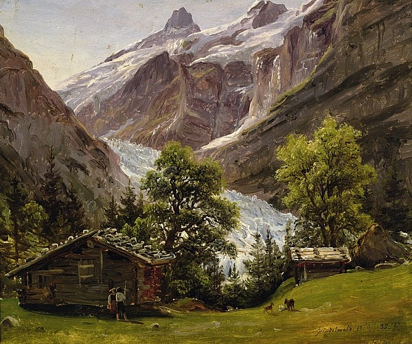 Thomas Fearnley (1802-1842): Grindelwald, Switzerland