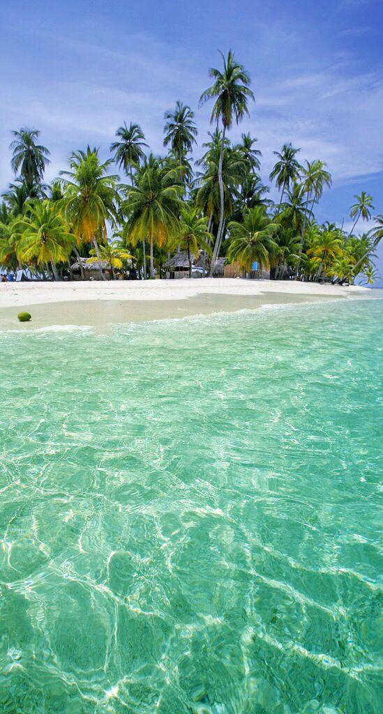 Tropical sea iphone wallpaper Живописные пейзажи