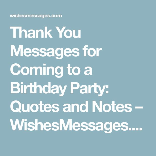 Quotes On Thank You Notes: Best 25+ Thank You Messages For Birthday Ideas On