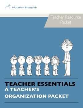Need a little help getting started and/or getting organized? Want to do so in a professional looking manner? This packet is just what you are looking for!This packet includes:- Lesson Plan Templates- Behavior Tracking Form (Incident Form) Teaching Journal: Time to    Reflect on Lessons- Data Tracking Form- Curriculum Map Template- Substitute Teacher Form (While the teacher is out...)- Substitute Teacher Feedback Form Emergency Lesson Plan Form   (have filled out and ready for a sub incase…