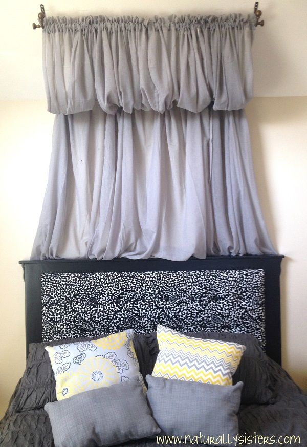 Canopy Bedroom Curtains: 29 Best Images About DIY Canopy Bed Curtains On Pinterest
