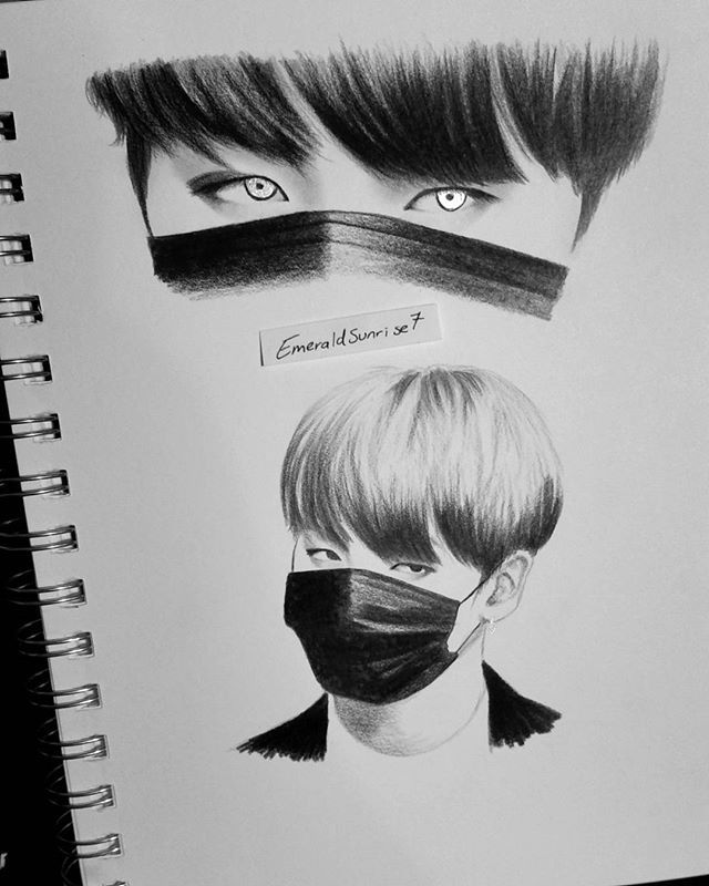 Cool And Easy Bts Drawings