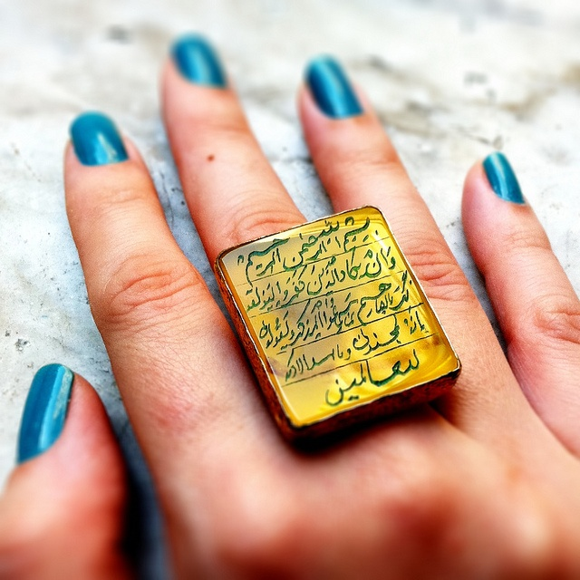 Turkish #calligraphy #ring.                         descargar ares