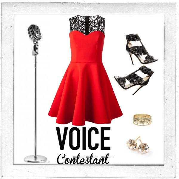 What Would You Wear to Compete on The Voice? Contest by own-style on Polyvore featuring moda, MSGM, Jimmy Choo, Ippolita, BCBGeneration, Polaroid, contestentry and realitytvstyle