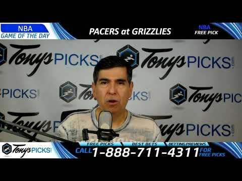 Indiana Pacers vs. Memphis Grizzlies – Free NBA Basketball Picks and Pre...