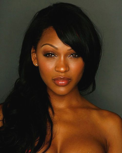 Meagan Good ... Evans future girlfriend and possibly future wife