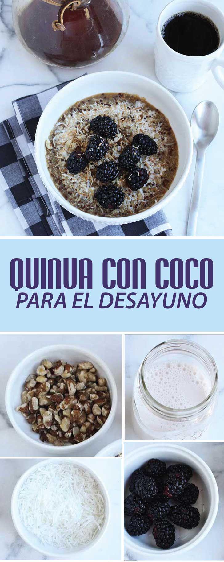 una deliciosa receta para cuando vayas saliendo de la cama, que además, te llenará de energía y nutrientes excelentes para tu cuerpo.