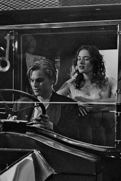 Kate Winslet / Rose DeWitt Bukater and Leonardo DiCaprio / Jack Dawson - 'Titanic', 1997.