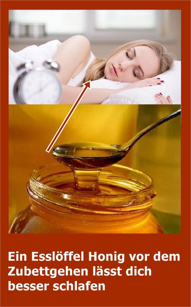 Ein Esslöffel Honig vor dem Zubettgehen lässt dich besser schlafen | njuskam!