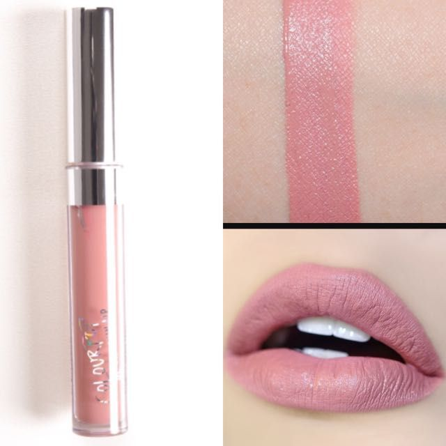 *swatched with q-tip* Colourpop Ultra Satin Lip in Littlestitious rv US$6
