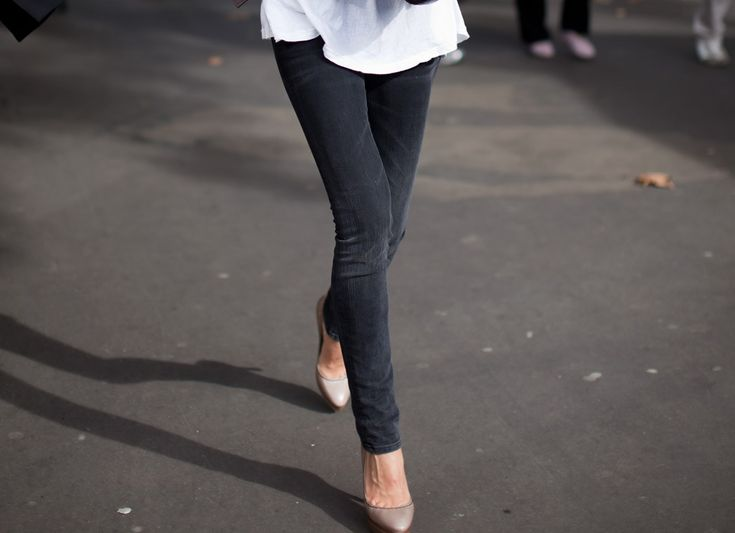 Perfect skinny black jeans