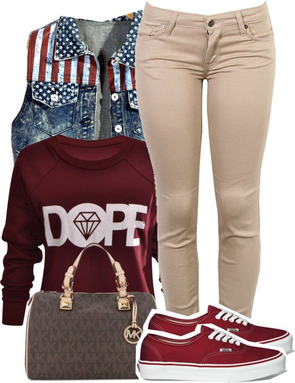 I like this outfit, remove the VANs and replace them with Jordan's and I would LOVE it.
