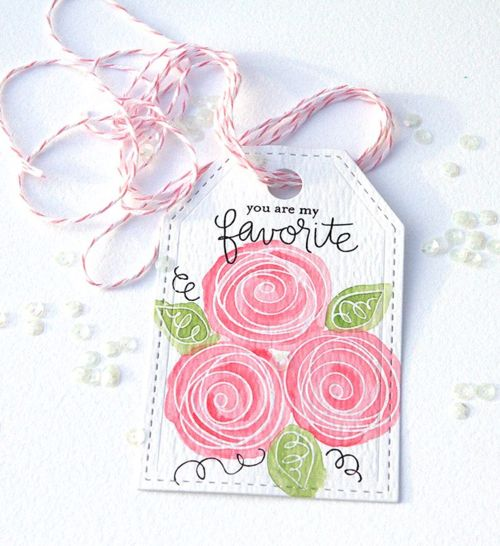You are my favorite tag using Simon Says Stamps Favorite Flowers stamp set. Details on my blog: http://suzyplantamura.typepad.com/living_my_dream/