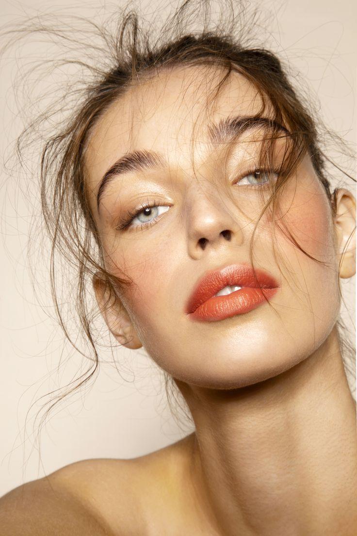 make up simple - Peach Makeup Makeup by @haneulina - #
