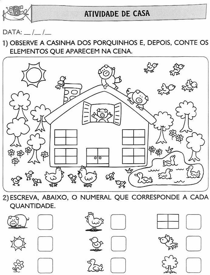 atividades de alfabetização de leitura para educação infantil