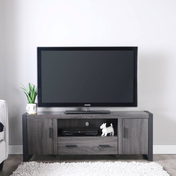 """Walker Edison Reclaimed Wood TV Stand for TVs up to 65"""", Multiple Finishes"""