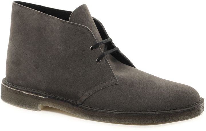 Grey Desert Boots by Clarks. Buy for $150 from Asos