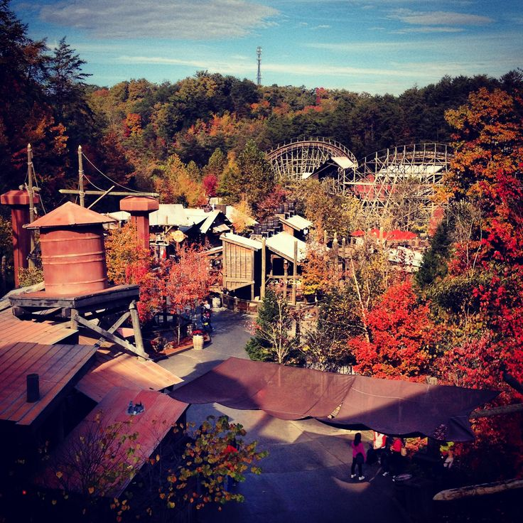 Dollywood, Pigeon Forge, TN. Can't recommend this adorable, folksy place enough. Great food, lots to do and toothless people everywhere - what's not to love?! DL