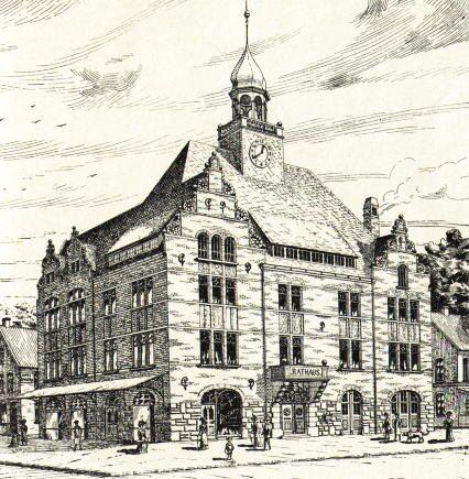 Borkumer Rathaus... Schilda ist überall