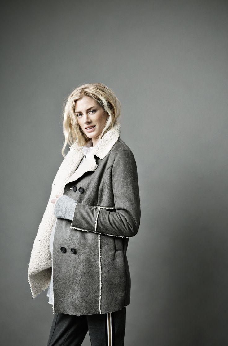 Winter coat Haven (70652) & Casual trousers Hadia (70606) | Noppies mum