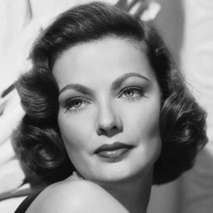 Actress Gene Tierney had a rocky start in Hollywood, but is best known for her role as a memorable murder victim in the 1944 film Laura.