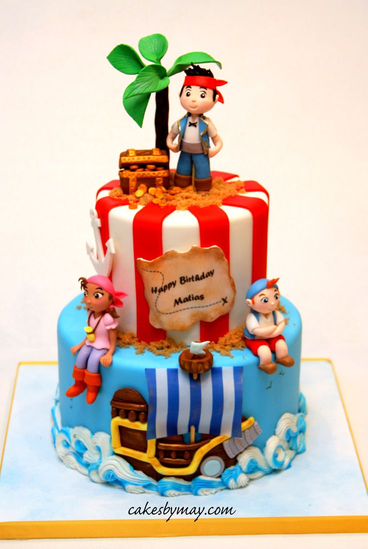 39 best Pirate Cakes images on Pinterest Pirate party Pirate