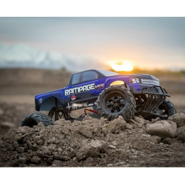 Enjoy the awesome power of the REDCAT RACING ELECTRIC RC TRUCKS RAMPAGE XT-E 1/5 SCALE. Always Free Shipping!