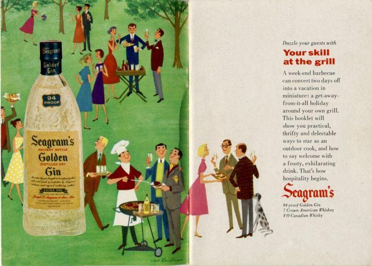 Weekend Event...BBQ - Vintage Ads