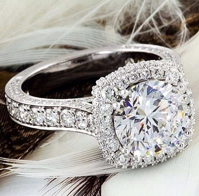 Solitaire GIA And EGL USA Certified Ladies Diamond Engagement Rings Featuring Tacori Style Mountings Eternity Bands Halo Etc