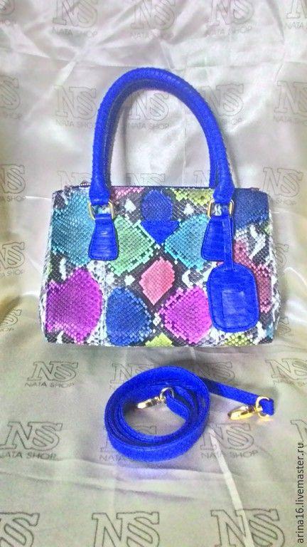 Купить Сумка Prada, распродажа! - разноцветный, prada, сумка из питона, изделия из питона