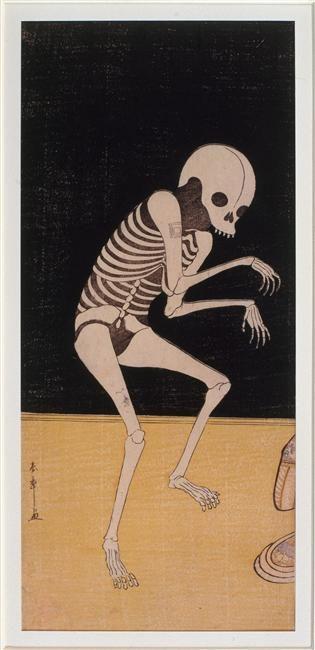 """Acteur de kabuki : l'acteur Ichikawa Danjurô V"" de Katsukawa Shunsho (1726-1792). Paris, musée Guimet - musée national des Arts asiatiques - Photo (C) RMN-Grand Palais (musée Guimet, Paris) / Harry Bréjat"