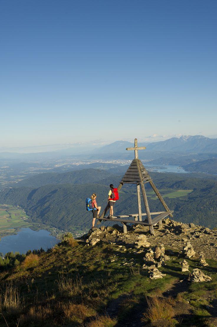 (c) Franz Gerdl #gerlitzen #alps #mountains #lake #Ossiach #hiking #bluesky #carinthia