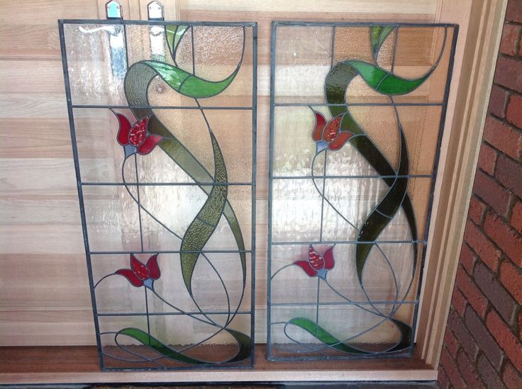 Stained Glass Leadlight Panel in Avondale Heights, VIC | eBay