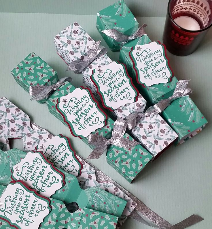 Stampin' Up! Demonstrator stampwithpeg – Envelope Punch Board : Presents & Pinecones Christmas Crackers Tutorial This is the second of my Envelope Punch Board Saturday projects which I will be …