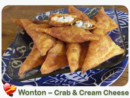 Crab Wonton - ILoveHawaiianFoodRecipes