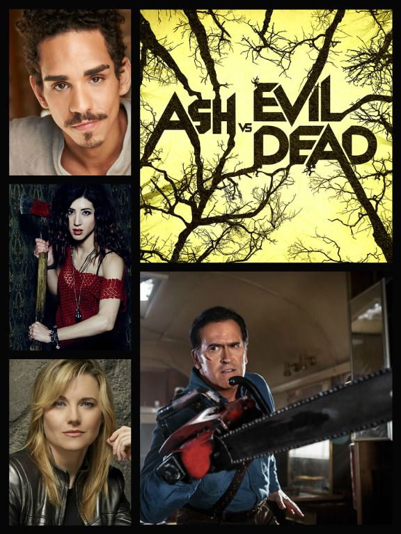 Ash vs Evil Dead (2015– ) Bruce Campbell, Ray Santiago, Dana DeLorenzo, and  Lucy Lawless