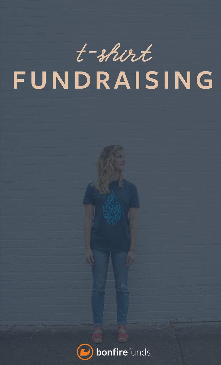 Design t shirt for fundraiser - Raise Money With Custom T Shirts Create Your Own Design Share Your Fundraiser