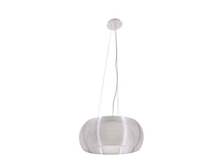 Lampa wisząca srebrna TANGO