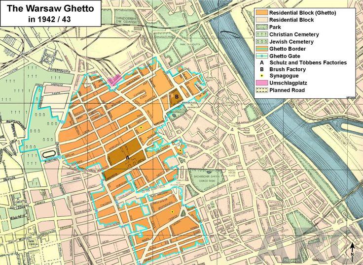 The Jewish Ghetto in Warsaw 1942/1943