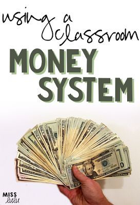 There are so many ways to use class money in your classroom!  It's such an amazing way to naturally teach money management, budgeting and economics. Read some tips and tricks for using a classroom money system for positive behavior support.